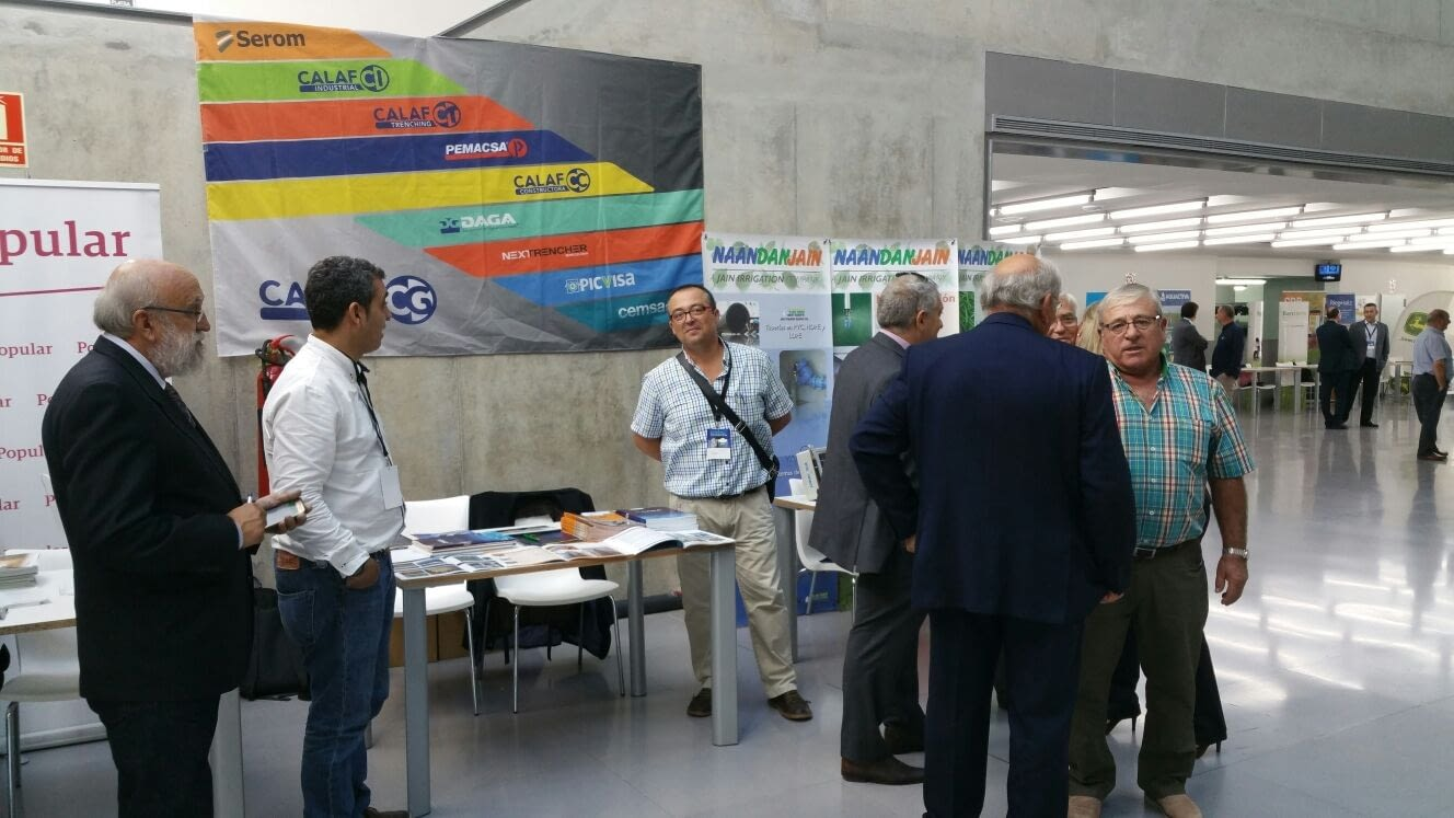 Calaf Trenching attended the 19th Irrigation Conference of Alto Aragón and the National Water Agreement